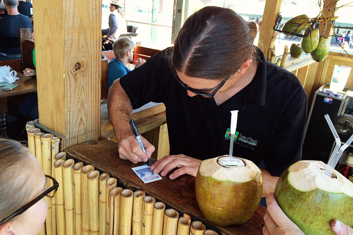 coconut-stand