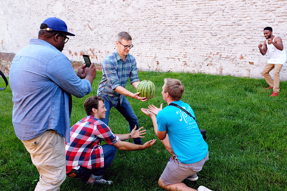 group-and-melon